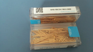 China Yellow metal SMT Spare Parts Ingun Test Probes GKS-100-214-150-A-2000 Test Fixtures supplier
