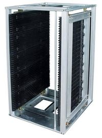 China SMT Anti - Static ESD PCB Magazine Rack Metal SO9001 Certification factory