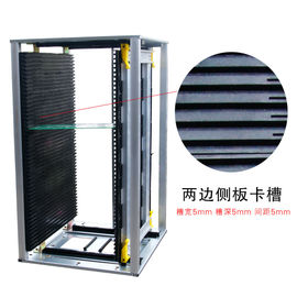 China 8KG SMT Spare Parts PCB Magazine Loader and Unloader PCB Holder Rack 460mm x 400mm x 563mm distributor