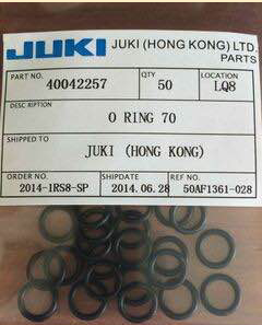 High Degree JUKI O Ring 40042257 For JUKI KE730 / 740 / 750 / 760