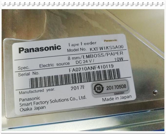 KXFW1KS5A00 Panasonic CM602 8mm Tape Feeder with Sensor Original New 10W