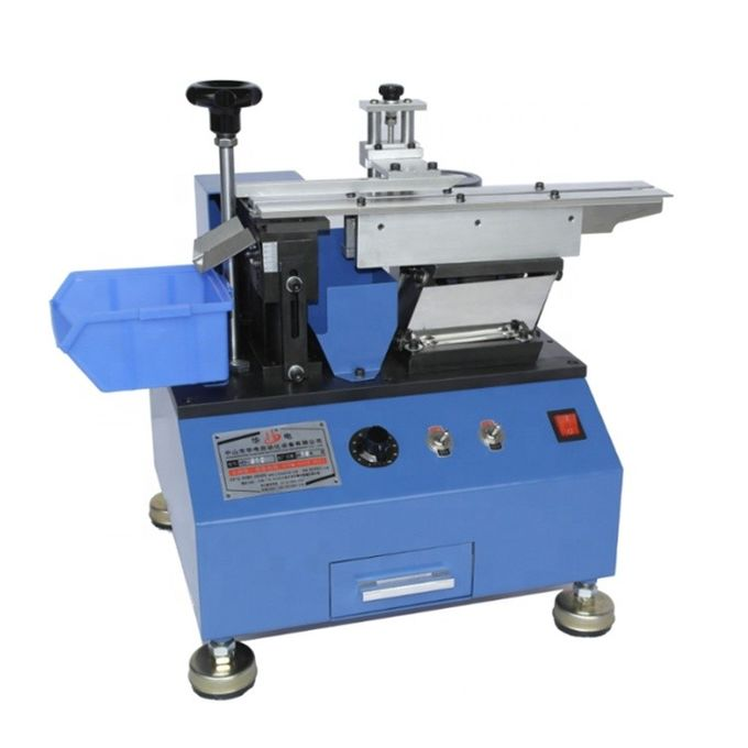 Manual Type Resistor Lead Cutting And forming Machine Radial Capacitor Lead Cutting Machine